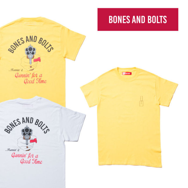 【SALE】 BONES AND BOLTS(ボーンズアンドボルツ) 6791409 TEE(GOOD TIME)
