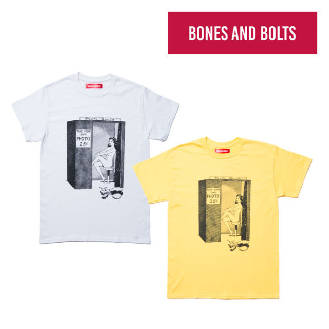 【SALE】 BONES AND BOLTS(ボーンズアンドボルツ) 6791410 TEE(PHONE BOOTH)