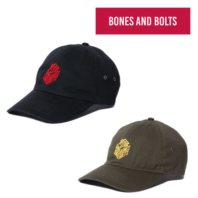 【SALE】 BONES AND BOLTS(ボーンズアンドボルツ) 6791601 CAP(BOX LOGO) 【ロゴ キャップ】