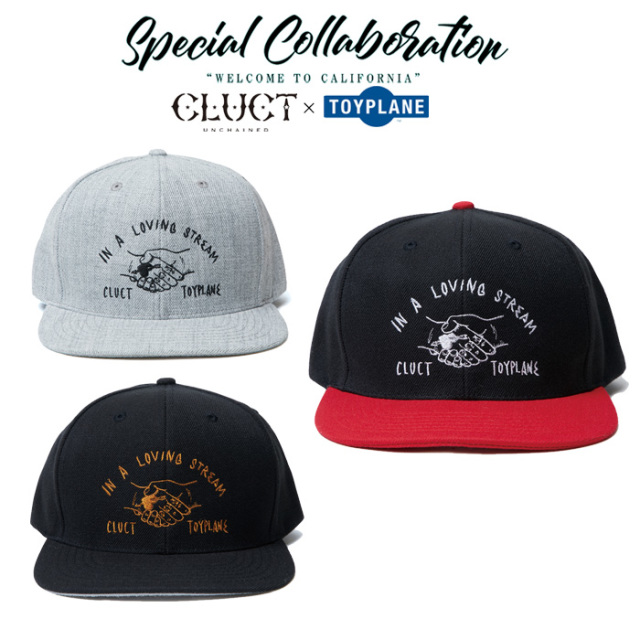 CLUCT(クラクト)×TOYPLANE(トイプレーン) BASEBALL CAP 【SPECIAL COLLABORATION】【コラボ キャップ】【#02869】
