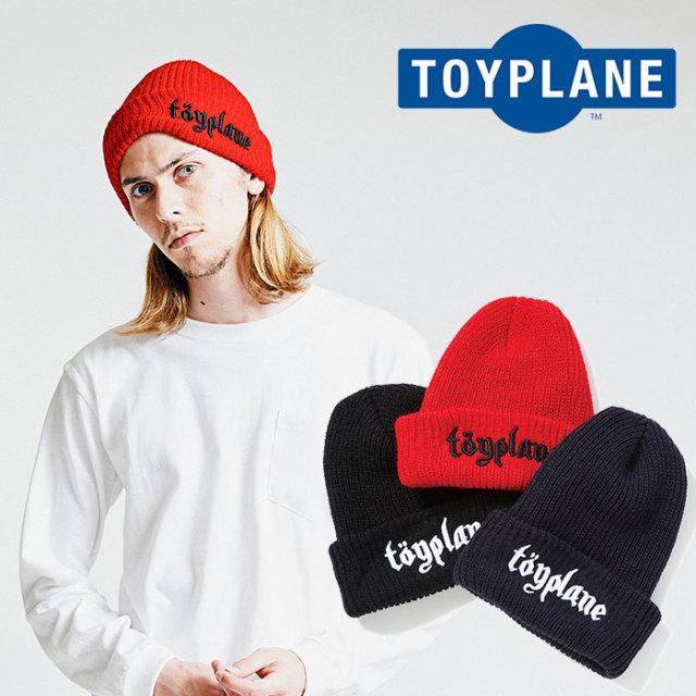 TOYPLANE(トイプレーン) LOGO BEANIE 【2018AUTUMN/WINTER先行予約】 【キャンセル不可】【TP18-FCP04】