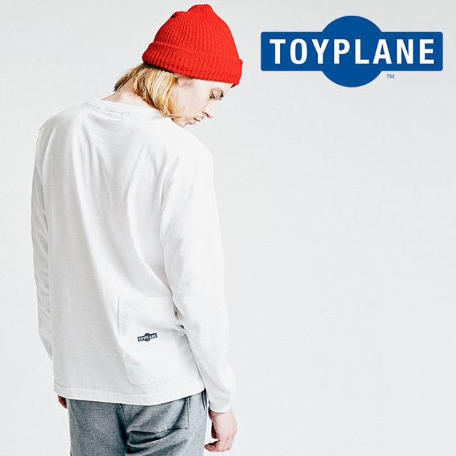 TOYPLANE(トイプレーン) L/S BACK POCKET TEE 【2018AUTUMN/WINTER先行予約】 【キャンセル不可】【TP18-FCS02】