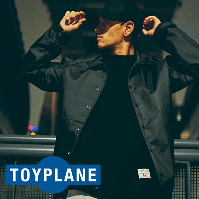 TOYPLANE(トイプレーン) RUBER TOUCH COACH JACKET 【2018AUTUMN/WINTER先行予約】 【キャンセル不可】【TP18-FJK02】