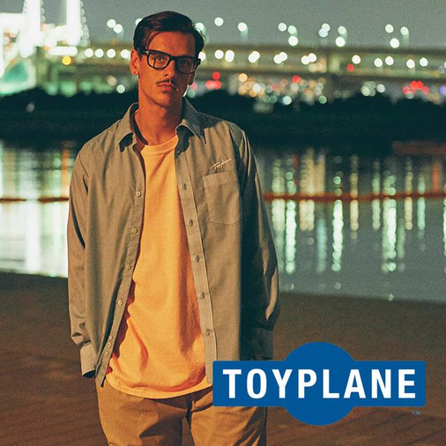 TOYPLANE(トイプレーン) PIGMENT DYE SHIRT 【2018AUTUMN/WINTER先行予約】 【キャンセル不可】【TP18-FSH02】