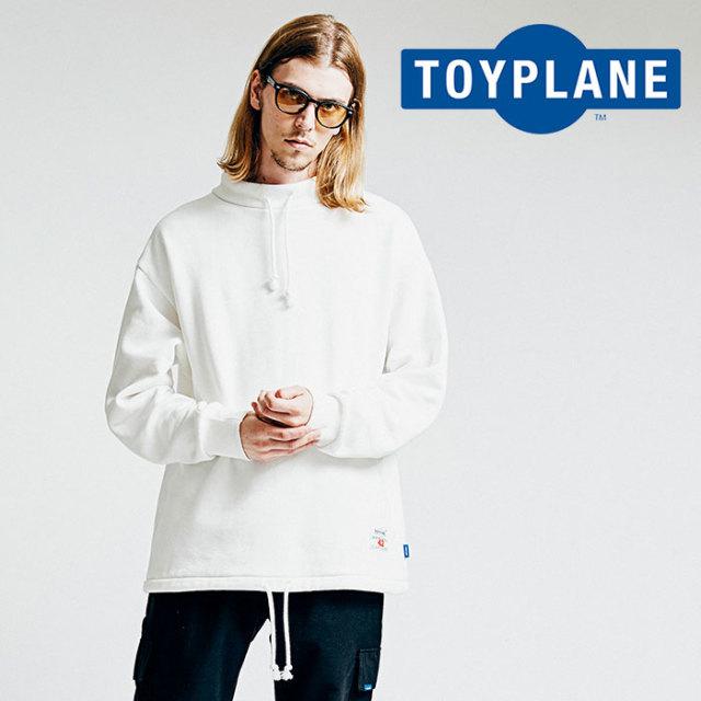TOYPLANE(トイプレーン) BIG MOCK NECK SWEAT 【2018AUTUMN/WINTER先行予約】 【キャンセル不可】【TP18-FSW05】