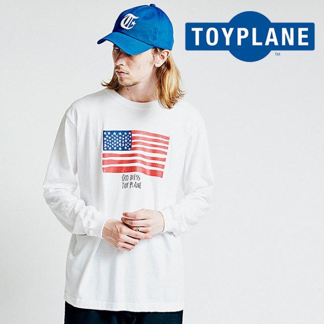 TOYPLANE(トイプレーン) L/S FLAG TEE 【2018AUTUMN/WINTER先行予約】 【キャンセル不可】【TP18-FTE01】