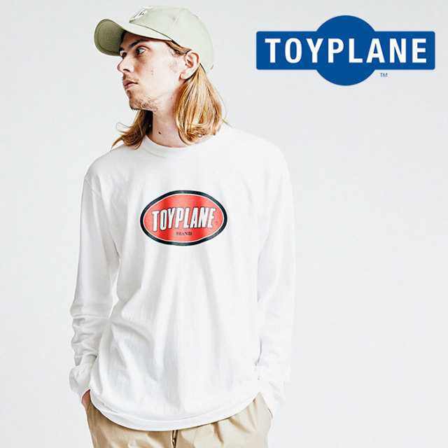 【SALE40%OFF】 TOYPLANE(トイプレーン) L/S FACTORY LOGO TEE 【2018AUTUMN/WINTER新作】 【即発送可能】【TP18-FTE02】