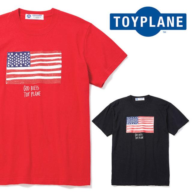 TOYPLANE(トイプレーン) S/S FLAG TEE 【2018AUTUMN/WINTER先行予約】 【キャンセル不可】【TP18-FTE06】