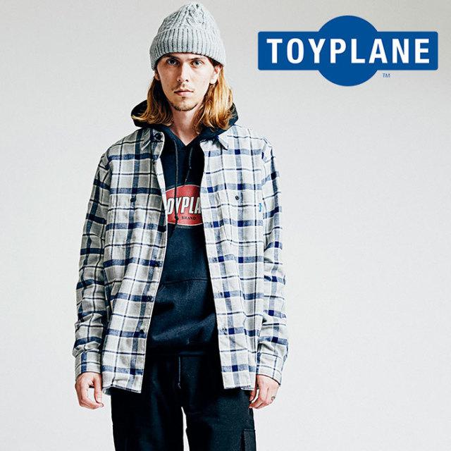 TOYPLANE(トイプレーン) CHECK FLANNEL SHIRT 【2018AUTUMN/WINTER先行予約】 【キャンセル不可】【TP18-FSH01】