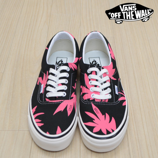 VANS(バンズ)(ヴァンズ) ERA 95 DX(ANAHEIM FACTORY) OG BLACK/OG PINK/SUMMER LEAF 【VANS スニーカー】【エラ】 【VN0A2RR1VY8
