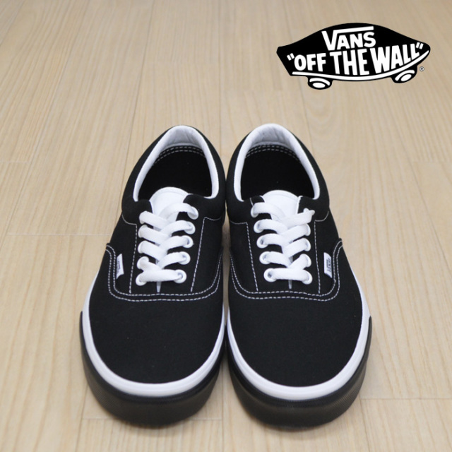 【VANS(バンズ)】 ERA (COLOR BLOCK)BLACK/TRUE WHITE 【VANS スニーカー】【エラ】【VN0A38FRVIG】