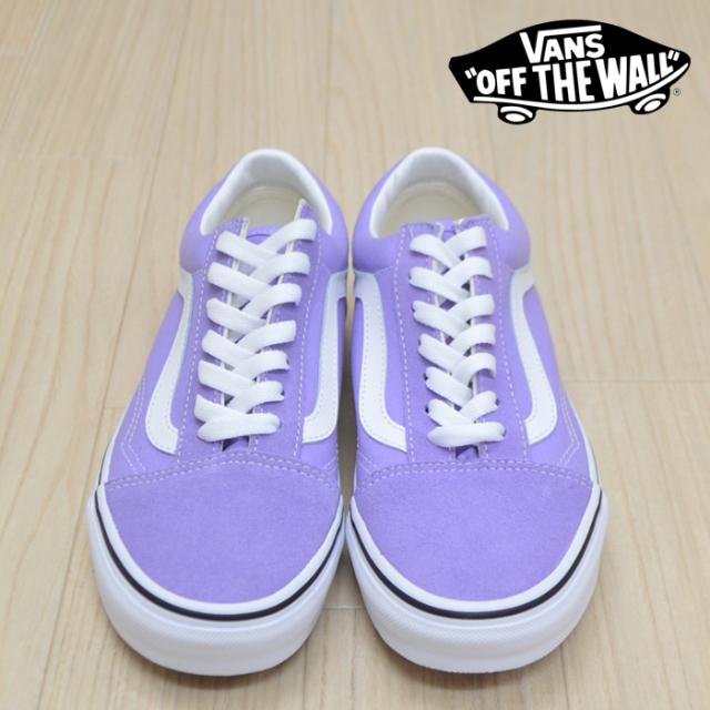 【VANS(バンズ)】 OLD SKOOL Violet Tulip/True White 【VANS スニーカー】【オールドスクール】 【VANS レディースサイズ】【VN0