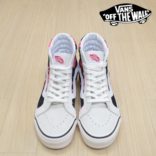 VANS(バンズ)(ヴァンズ) SK8-HI 38 DX(ANAHEIM FACTORY) OG WHITE/OG BLACK/SUMMER LEAF 【VANS スニーカー】【スケートハイ スケ