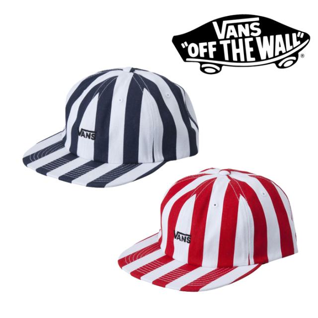 VANS(バンズ)(ヴァンズ) VANS STRIPE UNSTRUCTURED 【VANS アパレル】【帽子、キャップ】 【VN0A3I35IGI】【VN0A3I35O3M】