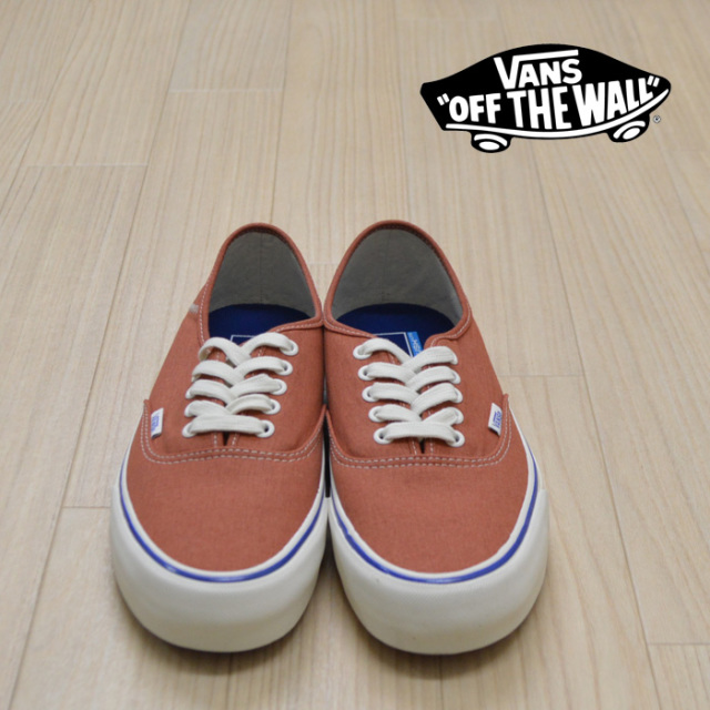 【VANS(バンズ)】 AUTHENTIC SF  (SALT WASH) POTTERS CLAY/MARSHMALLOW 【VANS スニーカー】【オーセンティック】【VN0A3MU6VLA】