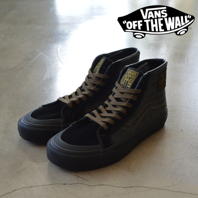 VANS(バンズ) SK8-HI 138 DECON SF (Michel February) Black/Military 【VANS スニーカー】【スケハイ】【VN0A3MV122M】