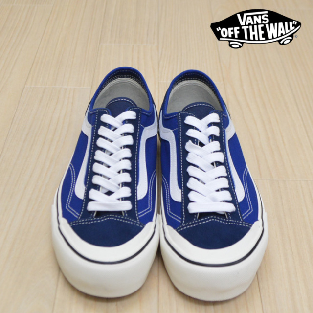 【VANS(バンズ)】 STYLE 36 DECON SF (CHECKERBOARD) TRUE BLUE/MARSHMALLOW 【VANS スニーカー】【スタイル36】【VN0A3MVLVS9】