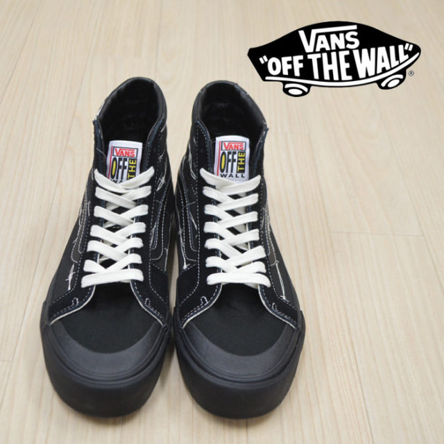 【VANS(バンズ)】 SK8-HI 138 SF  (BARBED WIRE) BLACK 【VANS スニーカー】【スケハイ】【VN0A3ZCEUPW】