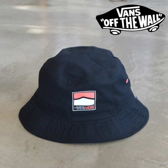VANS バンズ ヴァンズ   UNDERTONE II BUCKET  【バケットハット 帽子 vans バケハ】【VN0A4TQBBLK】【インタープレイ INTERPLAY】