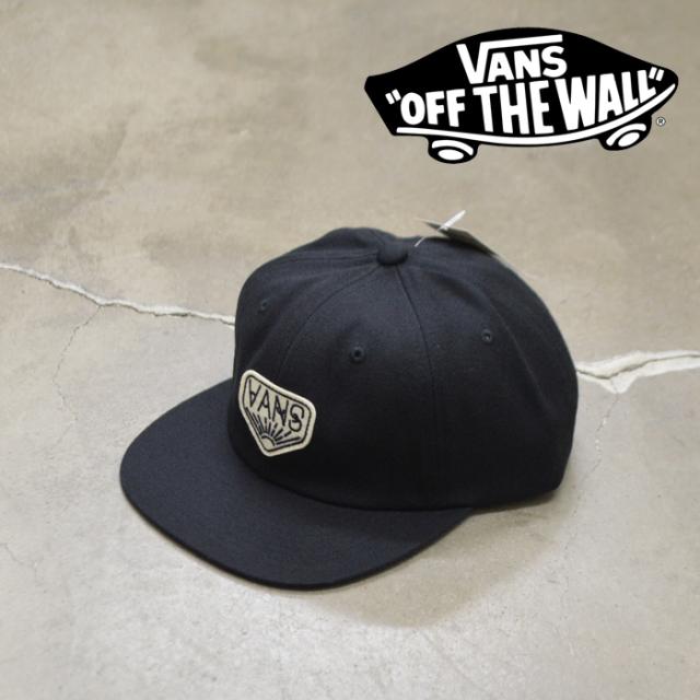 VANS(バンズ)(ヴァンズ) DAKOTA ROCHE VINTAGE UNSTRUCTURED HAT 【6パネルキャップ】【VN0A549VBLK1】