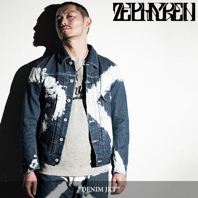 ZEPHYREN(ゼファレン) DENIM JKT 【2018SPRING/SUMMER先行予約】 【送料無料】【キャンセル不可】 【Z16AA01】