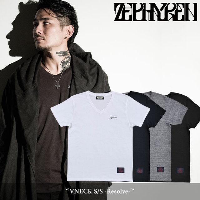ZEPHYREN(ゼファレン) VNECK S/S -Resolve- 【2018SPRING/SUMMER先行予約】 【キャンセル不可】 【Z16UL10】