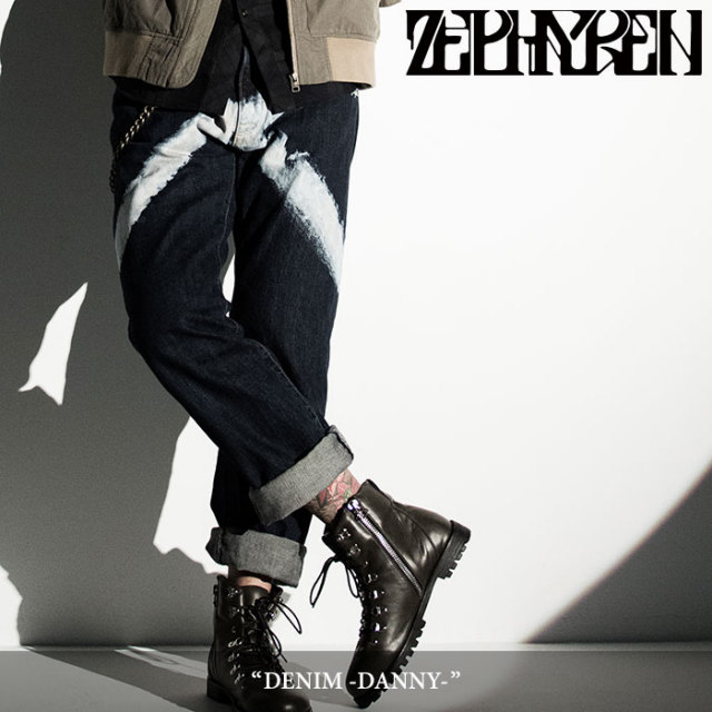 ZEPHYREN(ゼファレン) DENIM -DANNY- 【2018SPRING/SUMMER先行予約】 【送料無料】【キャンセル不可】 【Z16UQ02】