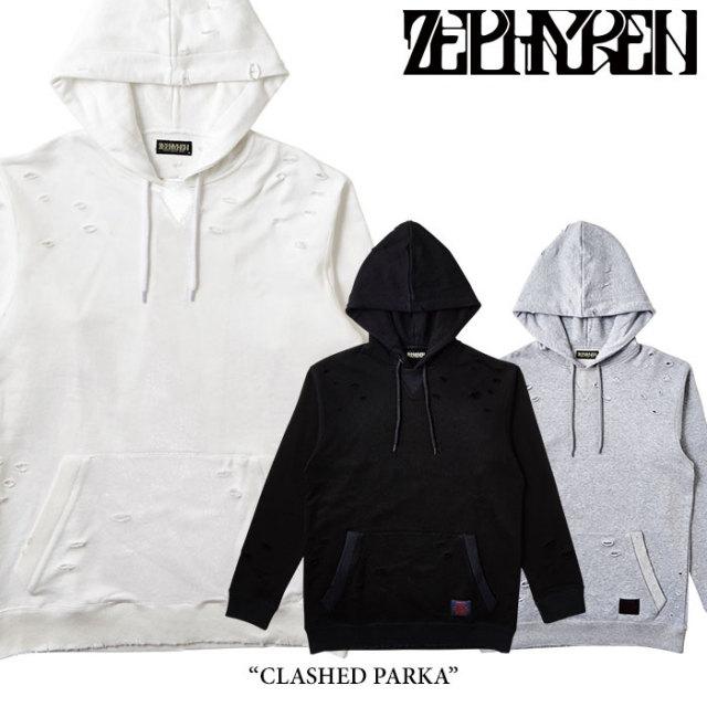 ZEPHYREN(ゼファレン) CLASHED PARKA 【2018SPRING/SUMMER先行予約】 【送料無料】【キャンセル不可】 【Z17AF02】