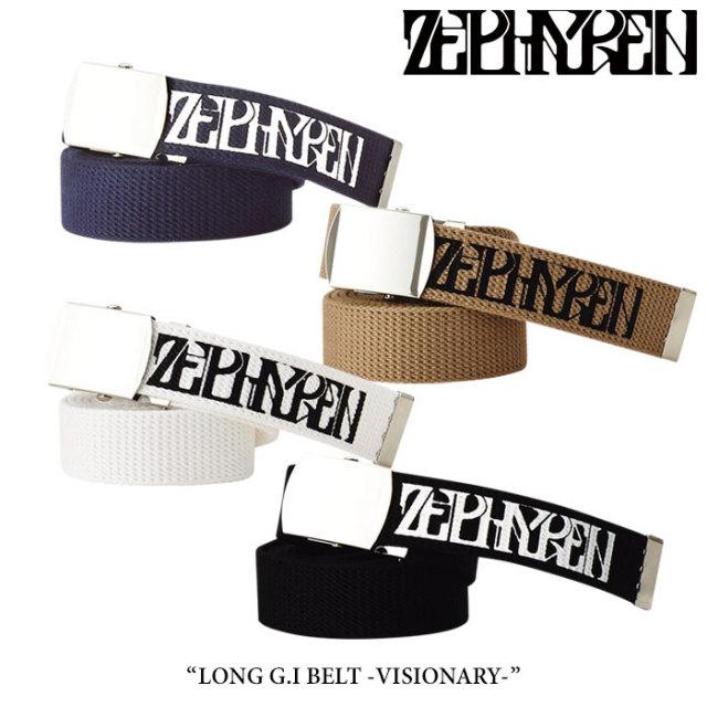 ZEPHYREN(ゼファレン) LONG G.I BELT -VISIONARY- 【2018SUMMER先行予約】 【キャンセル不可】 【Z17AW02】