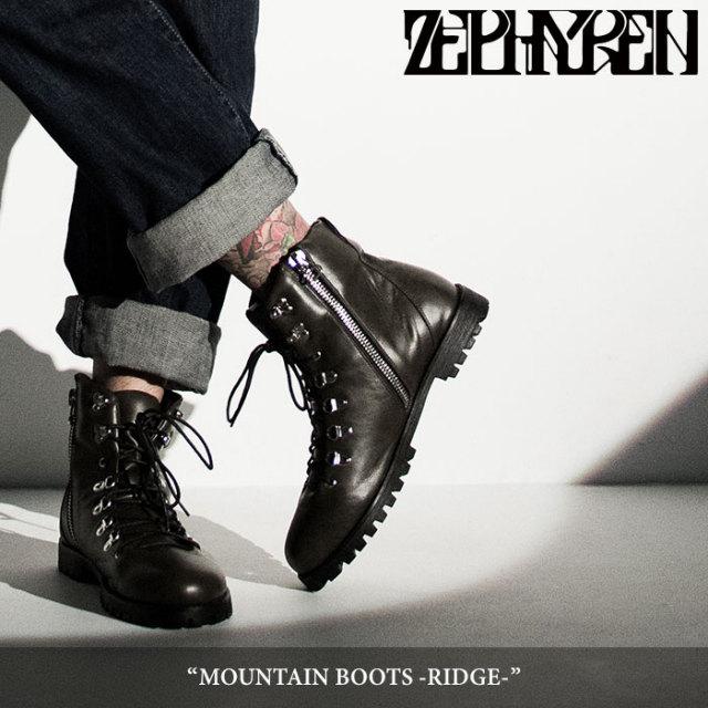 ZEPHYREN(ゼファレン) MOUNTAIN BOOTS -RIDGE- 【2018SUMMER先行予約】 【キャンセル不可】【送料無料】 【Z17AY03】