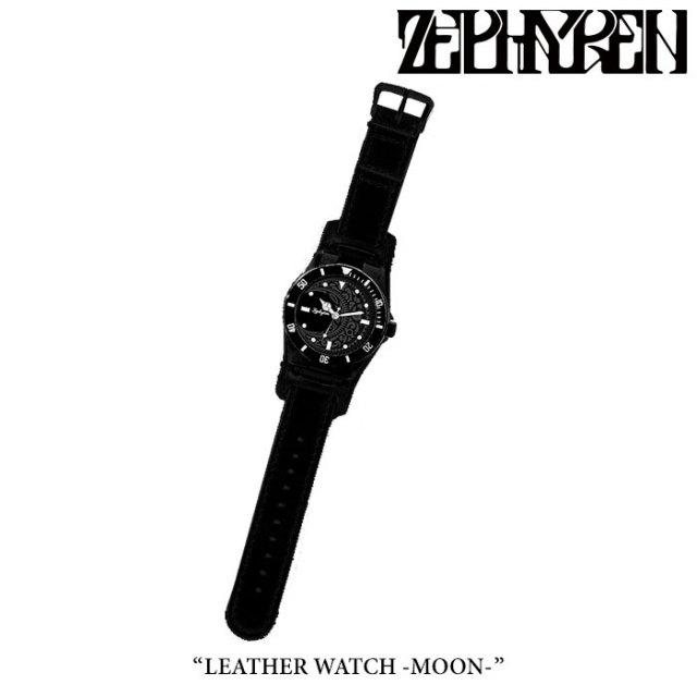 ZEPHYREN(ゼファレン) LEATHER WATCH -MOON- 【2018SUMMER先行予約】 【送料無料】【キャンセル不可】 【Z18PX01】