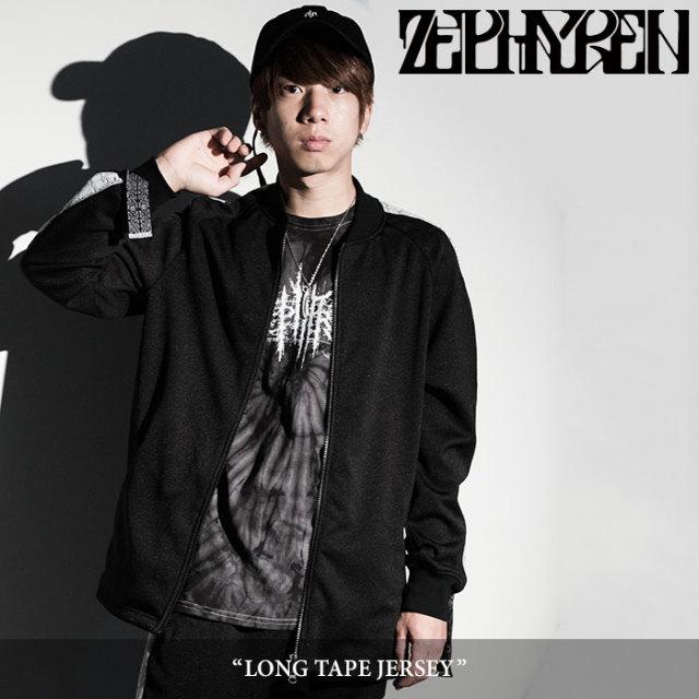 ZEPHYREN(ゼファレン) LONG TAPE JERSEY 【2018SPRING/SUMMER先行予約】 【送料無料】【キャンセル不可】 【Z18PA03】