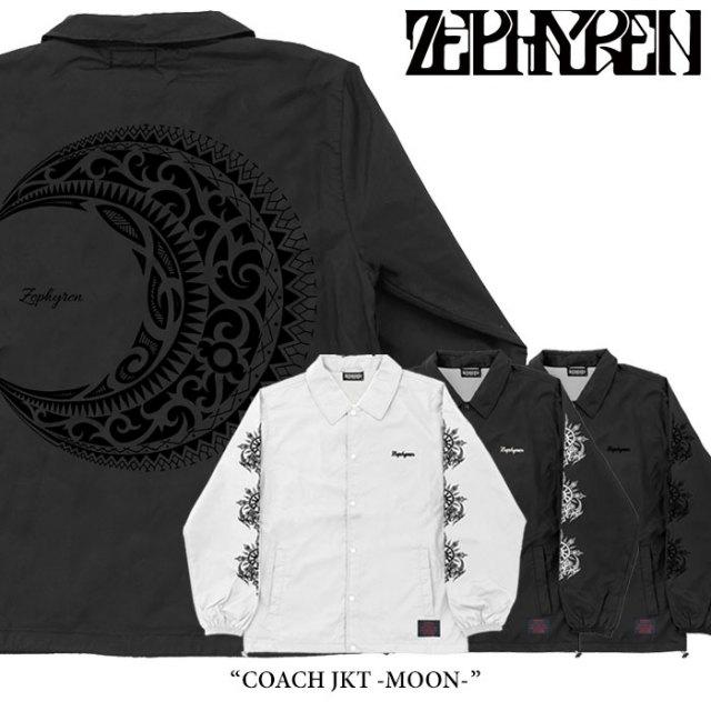 ZEPHYREN(ゼファレン) COACH JKT -MOON- 【2018SPRING/SUMMER先行予約】 【送料無料】【キャンセル不可】 【Z18PJ03】