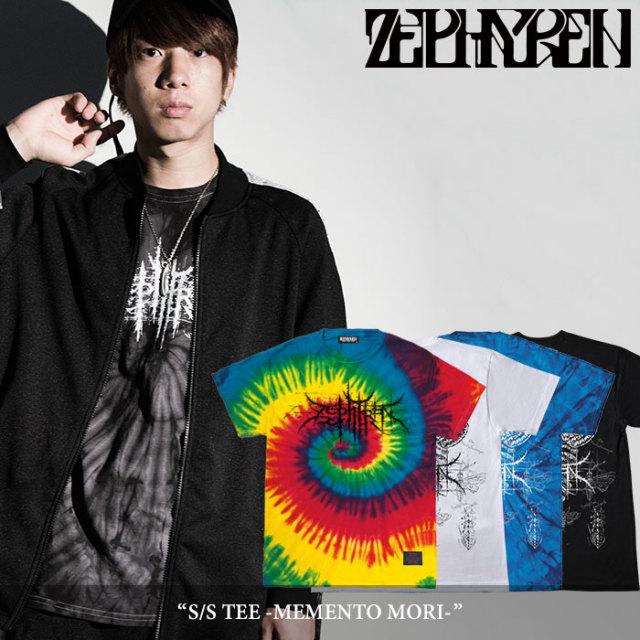 ZEPHYREN(ゼファレン) S/S TEE -MEMENTO MORI- 【2018SPRING/SUMMER先行予約】 【キャンセル不可】 【Z18PL04】