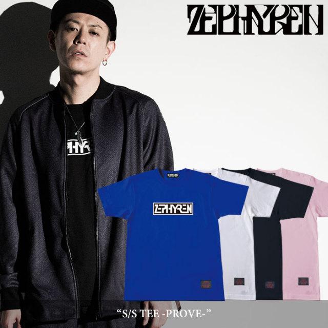 ZEPHYREN(ゼファレン) S/S TEE -PROVE- 【2018SPRING/SUMMER先行予約】 【キャンセル不可】 【Z18PL05】