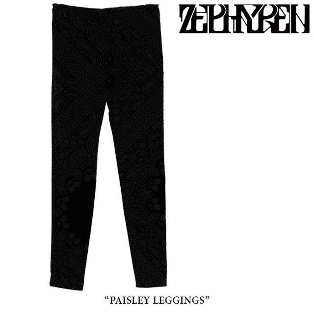 ZEPHYREN(ゼファレン) PAISLEY LEGGINGS 【2018SPRING/SUMMER先行予約】 【キャンセル不可】 【Z18PQ06】