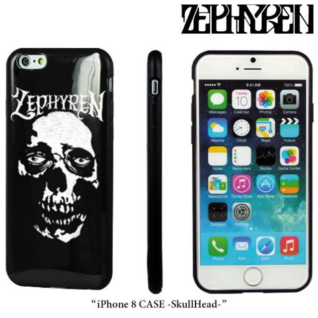 ZEPHYREN(ゼファレン) iPhone 8 CASE -SkullHead- 【2018SPRING/SUMMER先行予約】 【キャンセル不可】 【Z18PX02】