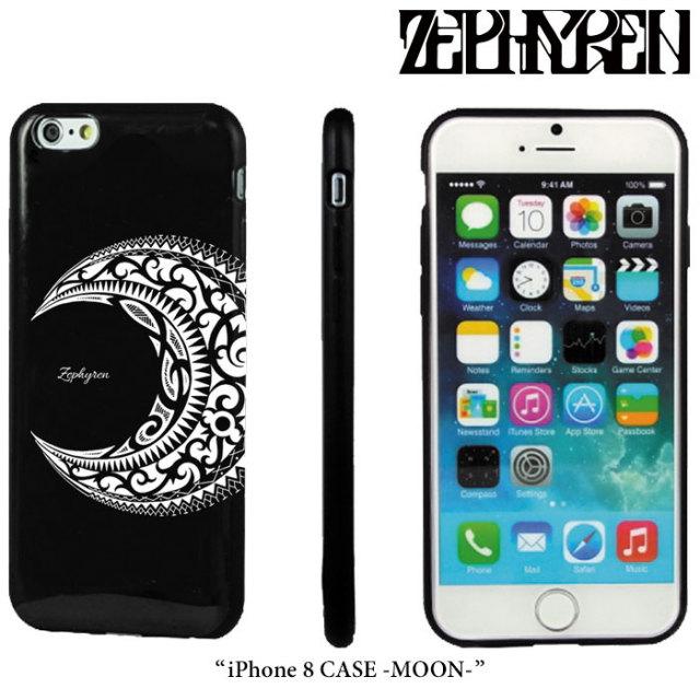 ZEPHYREN(ゼファレン) iPhone 8 CASE -MOON- 【2018SPRING/SUMMER先行予約】 【キャンセル不可】 【Z18PX04】