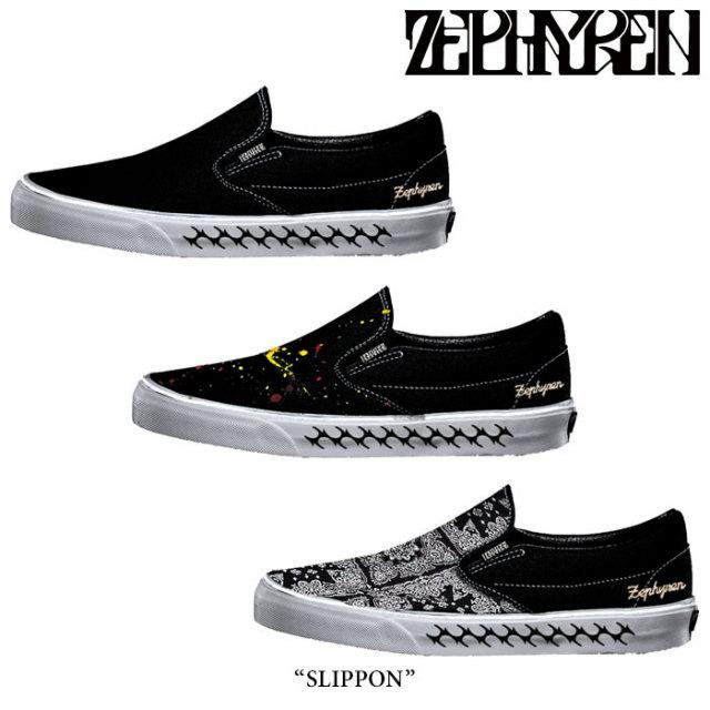 ZEPHYREN(ゼファレン) SLIPPON 【2018SPRING/SUMMER先行予約】 【キャンセル不可】【送料無料】 【Z18PY01】