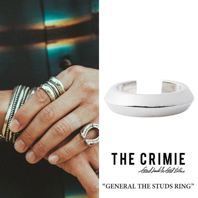 "CRIMIE(クライミー) GENERAL ""THE STUDS"" RING 【2018 SUMMER先行予約】 【送料無料】【キャンセル不可】 【C1H3-CXAG-GR01】【C"