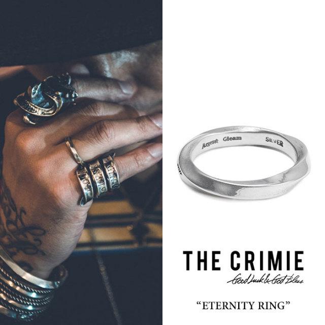 CRIMIE(クライミー) ETERNITY RING 【2018 SUMMER先行予約】 【送料無料】【キャンセル不可】 【C1H3-CXAG-ER01】 【CRIMIE リ