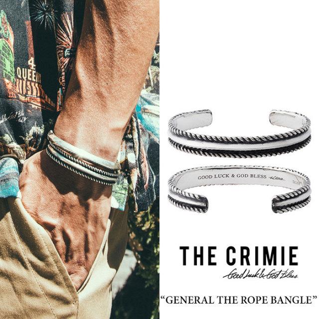 CRIMIE(クライミー) GENERAL THE ROPE BANGLE 【2018 SUMMER先行予約】 【送料無料】【キャンセル不可】 【CRIMIEバングル】【C1