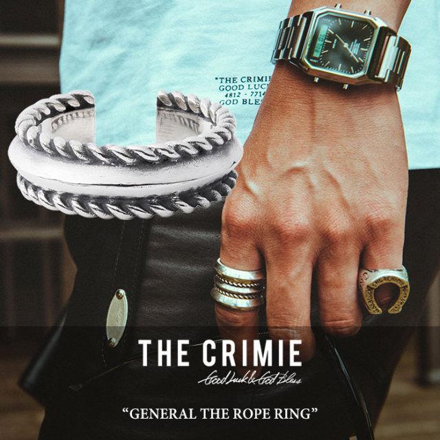 "CRIMIE(クライミー) GENERAL ""THE ROPE"" RING 【2018 SUMMER先行予約】 【送料無料】【キャンセル不可】 【C1H3-CXAG-GR02】【CR"