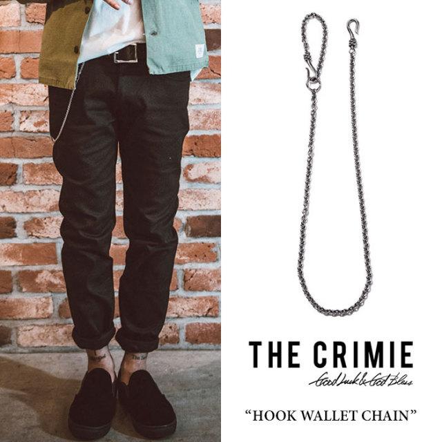 CRIMIE(クライミー) HOOK WALLET CHAIN 【2018 SUMMER先行予約】 【送料無料】【キャンセル不可】 【C1H3-CXAG-HW01】 【CRIMIE