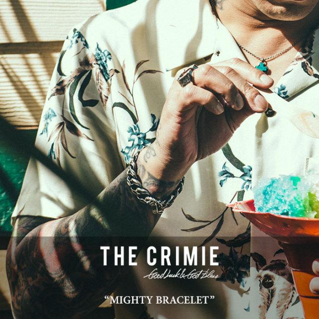 CRIMIE(クライミー) MIGHTY BRACELET 【2018 SUMMER先行予約】 【送料無料】【キャンセル不可】 【CRIMIE ブレスレット】【C1H3-