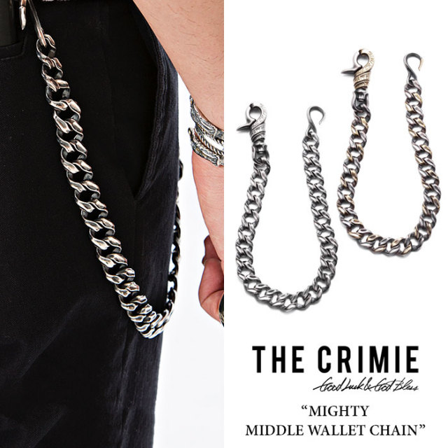 CRIMIE(クライミー) MIGHTY MIDDLE WALLET CHAIN 【2018 SUMMER先行予約】 【送料無料】【キャンセル不可】 【CRIMIE ウォレット