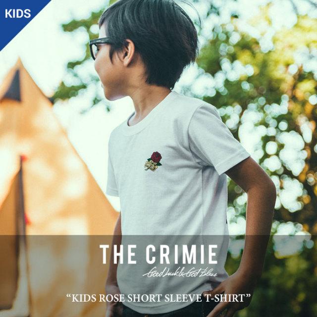 CRIMIE(クライミー) KIDS ROSE SHORT SLEEVE T-SHIRT 【2018 SUMMER先行予約】 【キャンセル不可】 【C1H3-TEK5】