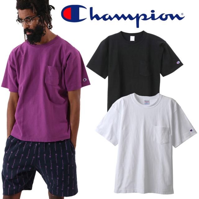 CHAMPION(チャンピオン) RW POCKET T-SHIRT リバースウィーブ ポケットTシャツ 【REVERSE WEAVE リバースウィーブ】【9.4oz】【C3