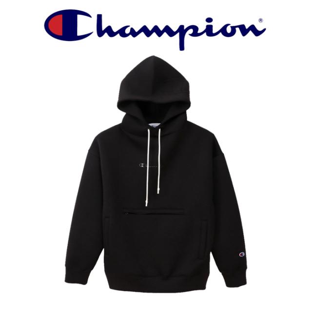 CHAMPION(チャンピオン) PULLOVER HOODED 【送料無料】【2019FW】 【プルオーバーパーカー】【アクションスタイル】【C3-Q110】