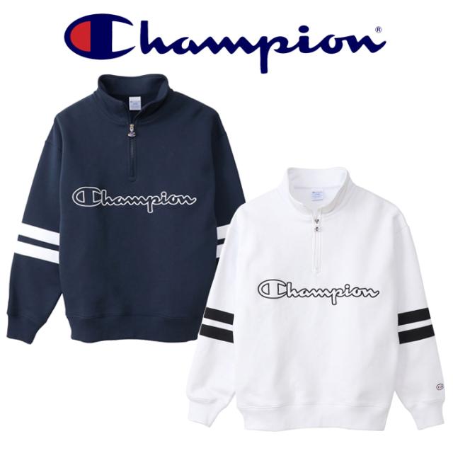 CHAMPION(チャンピオン) HARF ZIP SWEATSHIRT ハーフジップスウェットシャツ  (ACTION STYLE) 【スウェット アクションスタイル】